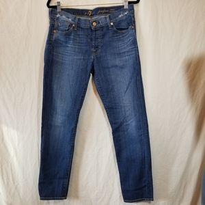 7 FAM josefina Skinny Boyfriend Jeans